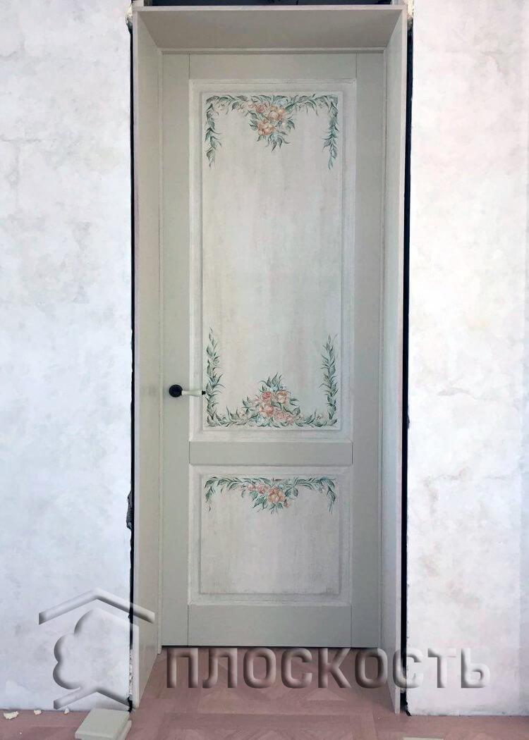 Двери межкомнатные СТАНДАРТ седой дуб ПГ Двери